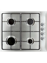 Cooke & Lewis CLGH3SS-C Gas Hob 4 Burners 60cm s-steel